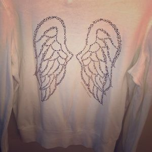 Victoria's Secret zip up angel hoodie